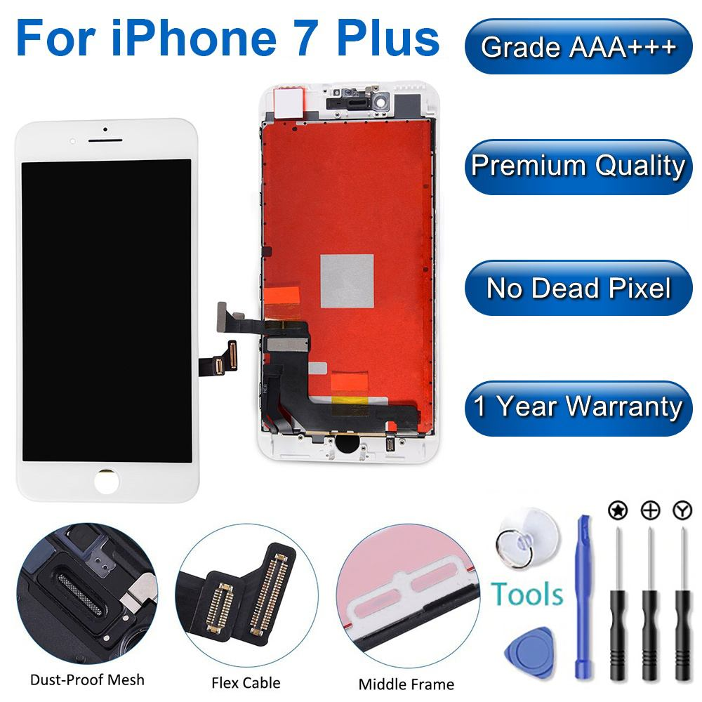 iPhpone 7 Plus LCD White Main