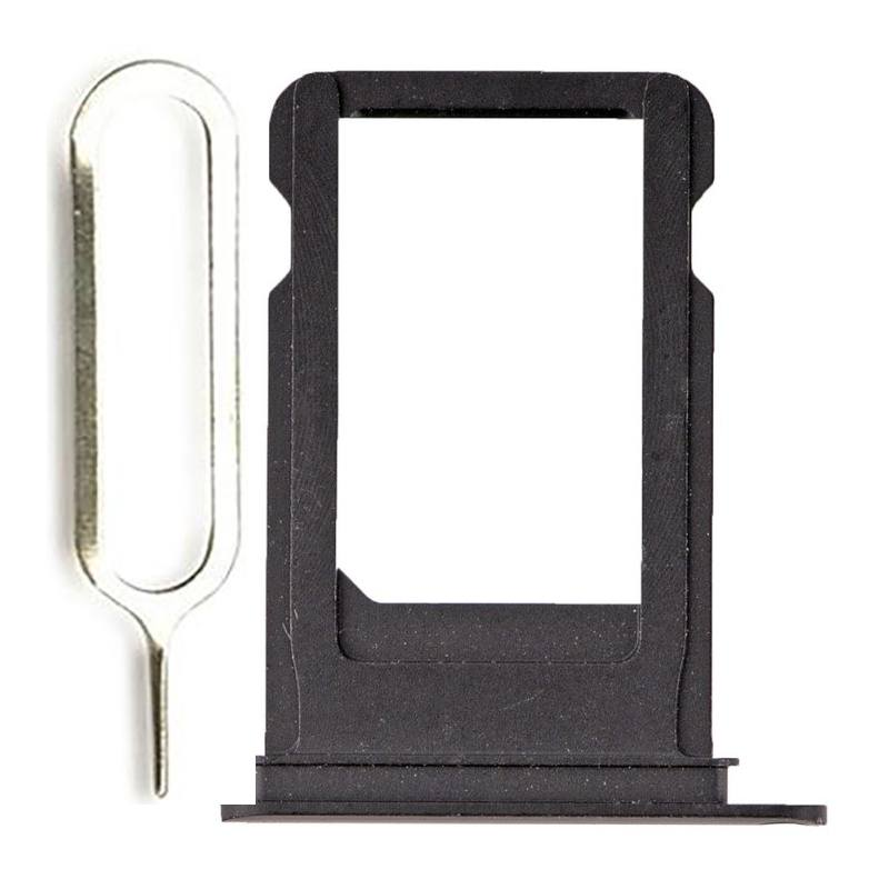 Black SIM Card Tray Holder with Eject Tool for iPhone 7 A1660 A1778 A1779 Pic0