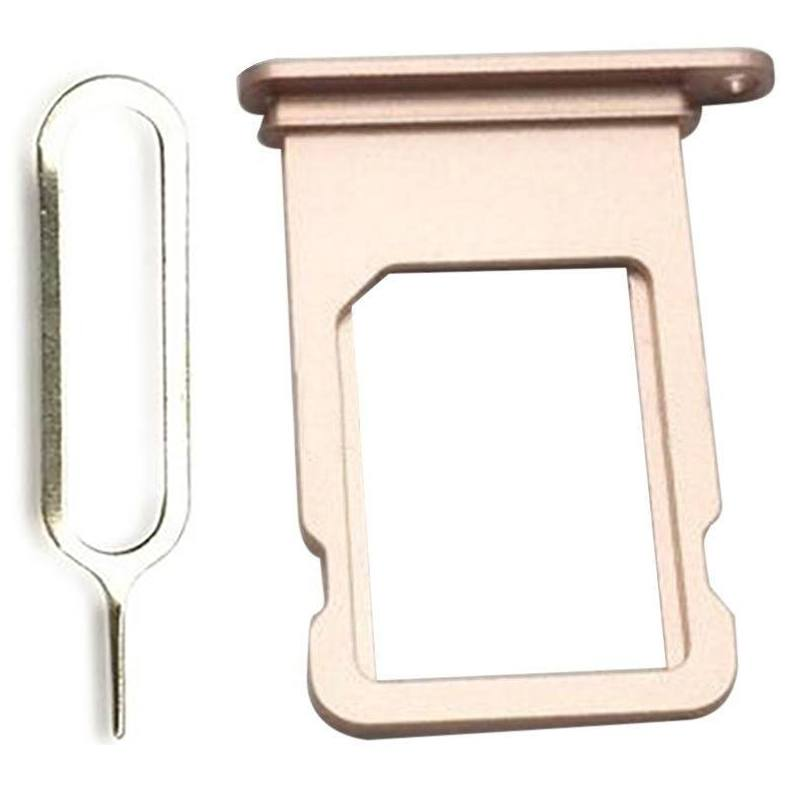 Rose Gold SIM Card Tray Holder with Eject Tool for iPhone 7 A1660 A1778 A1779 Pic0