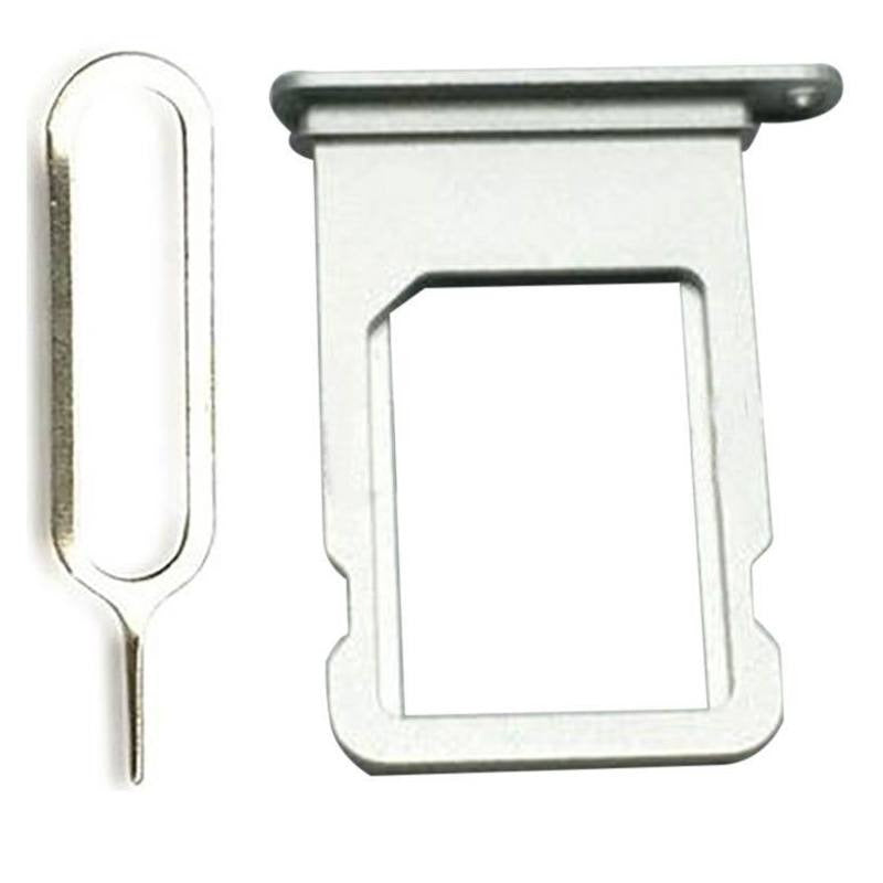 Silver SIM Card Tray Holder with Eject Tool for iPhone 7 A1660 A1778 A1779 Pic0