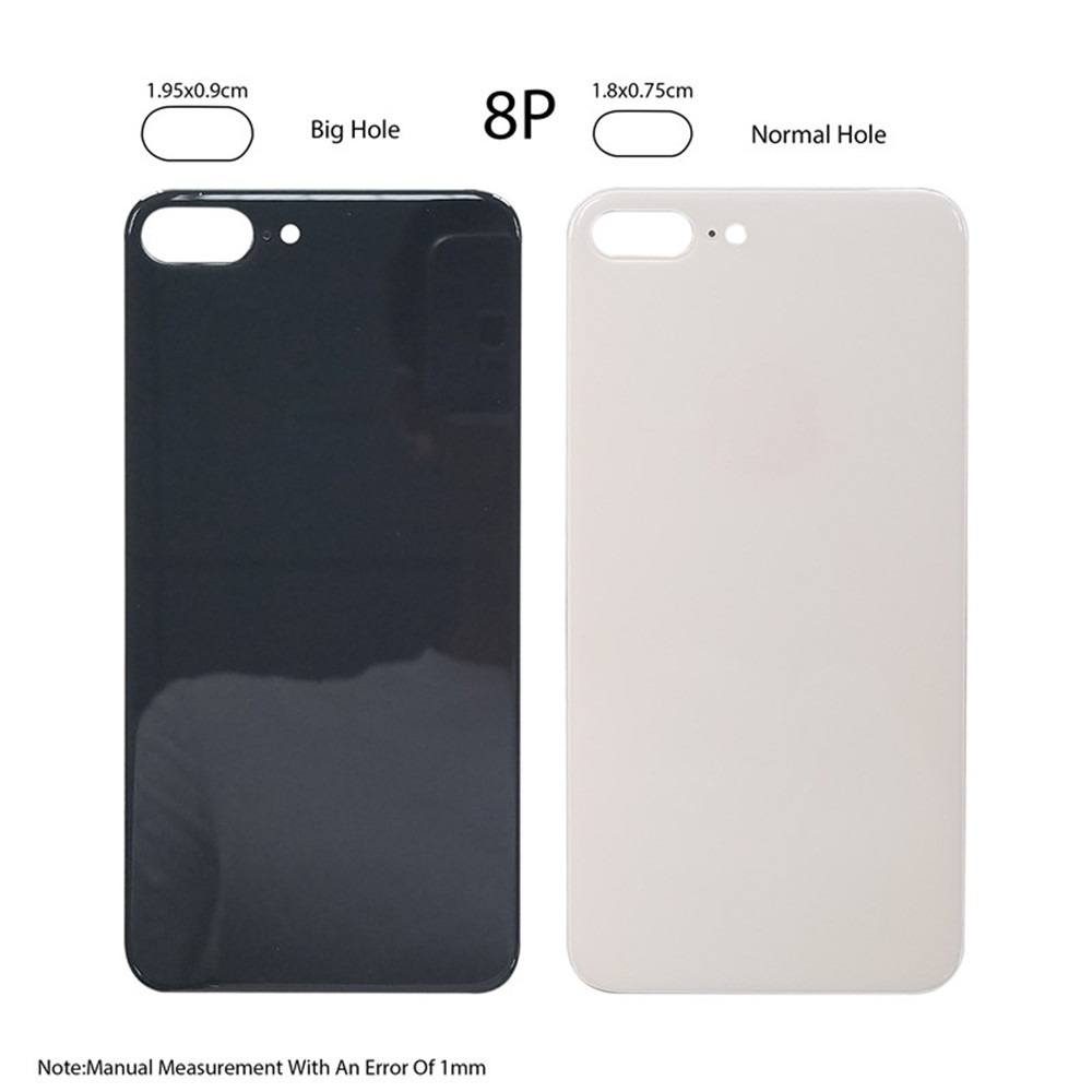 Back Glass Rear Battery Door Cover Replacement iPhone 8 Plus A1864 A1897 A1898 Pic0