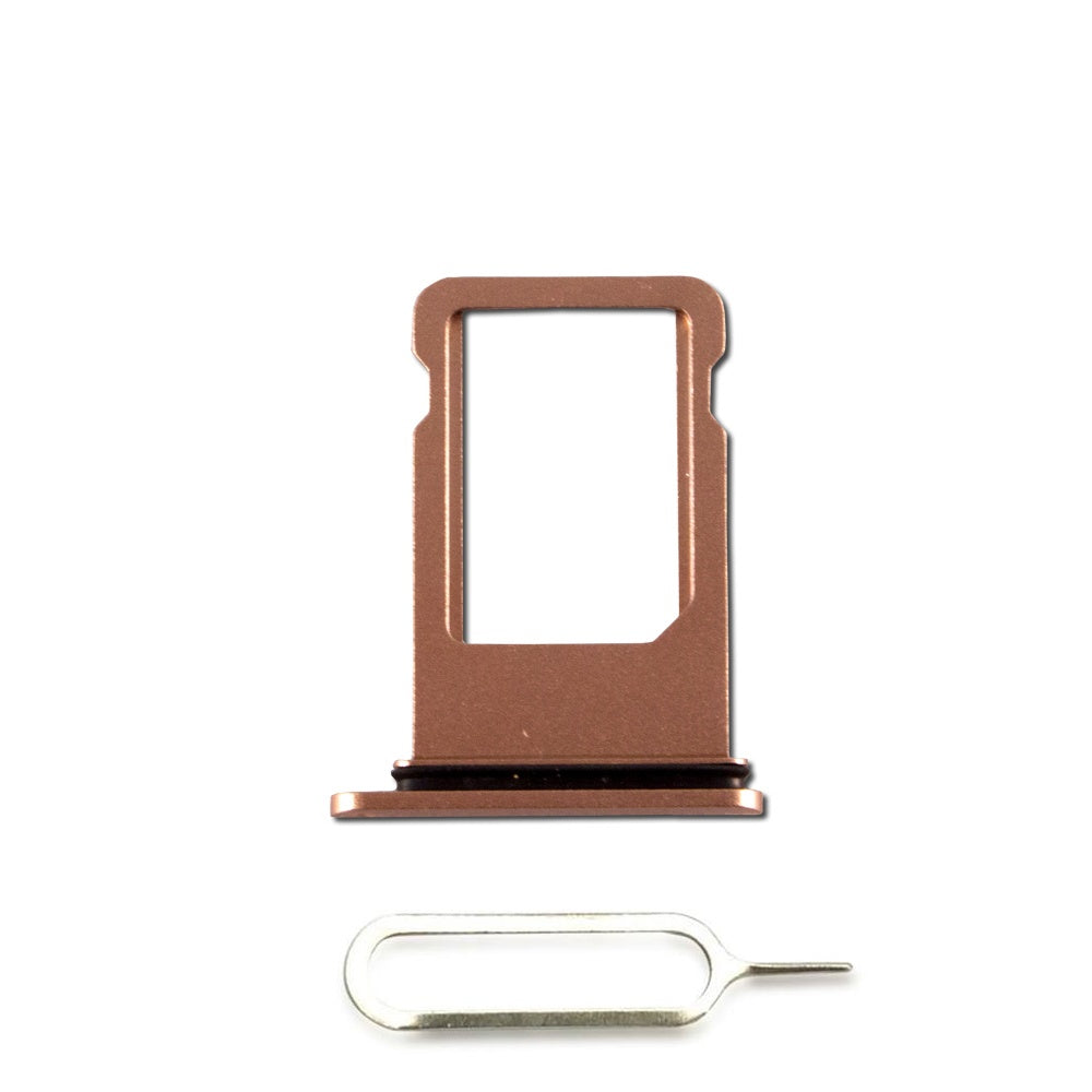 Gold SIM Card Tray Holder with Eject Tool for iPhone 8 Plus A1864 A1897 A1898 Pic0