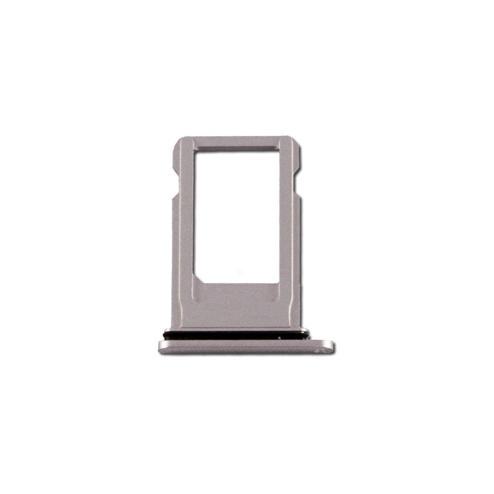 Silver SIM Card Tray Holder with Eject Tool for iPhone 8 Plus A1864 A1897 A1898 Pic1