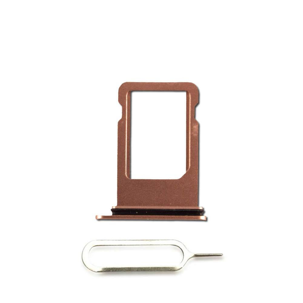 Gold SIM Card Tray Holder with Eject Tool for iPhone 8 A1863 A1905 A1906 Pic0