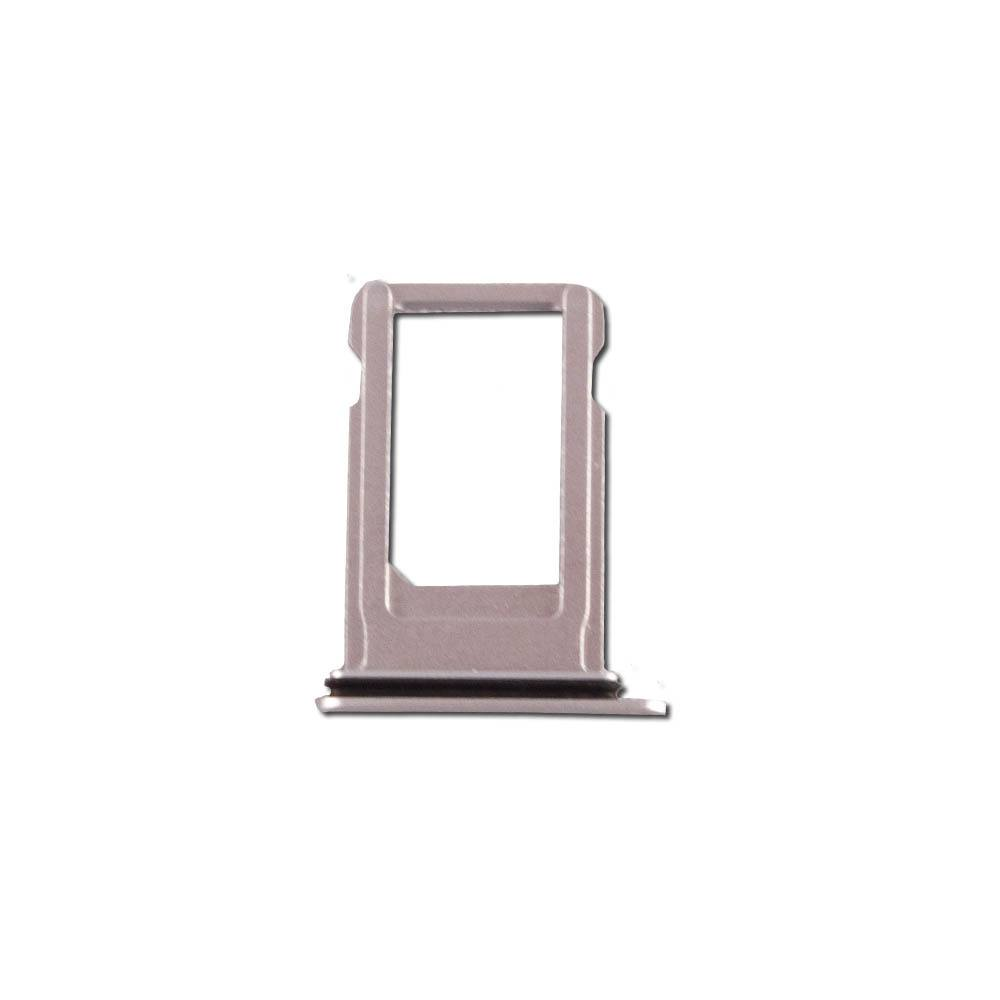 Silver SIM Card Tray Holder with Eject Tool for iPhone 8 A1863 A1905 A1906 Pic1