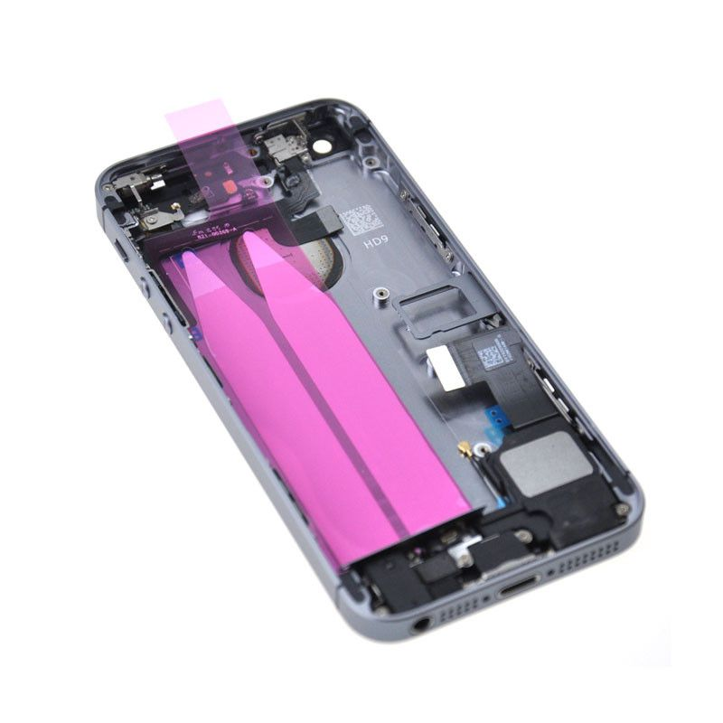 Gray Back Housing Mid Frame with Cables, Parts for iPhone SE A1662 A1723 A1724 Pic4