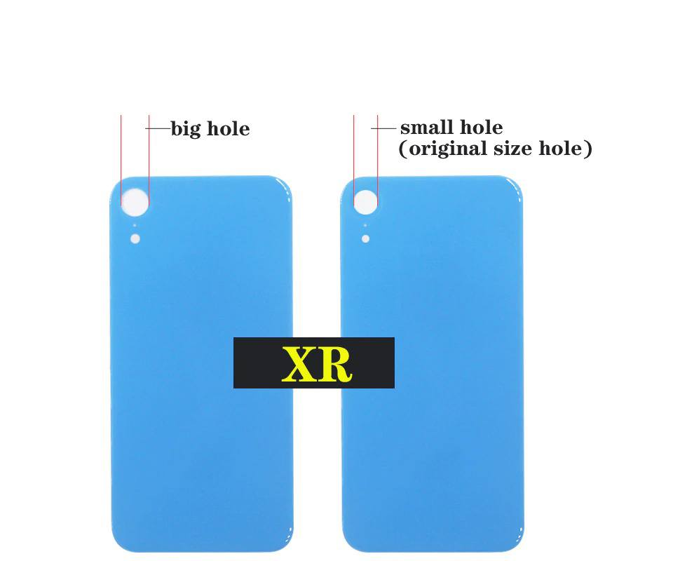 Back Glass Rear Battery Door Cover Replacement for iPhone XR A1984 A2106 A2108 Pic1