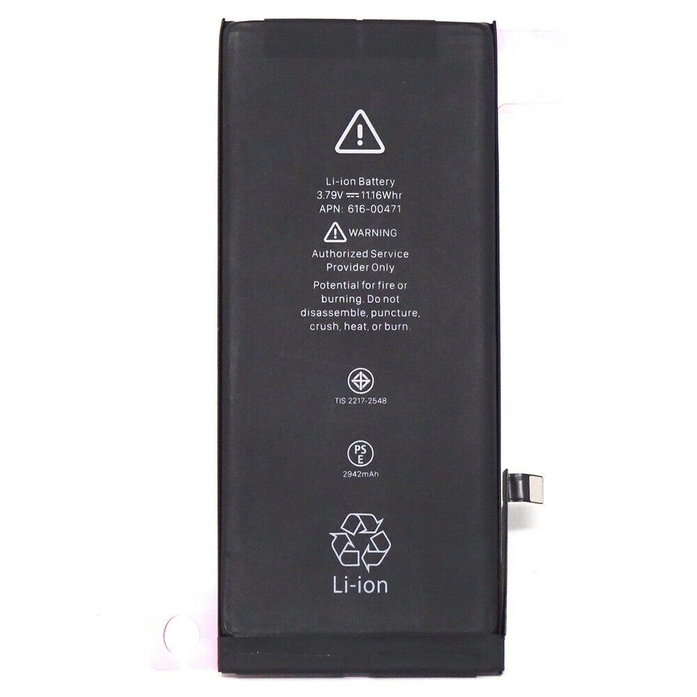 New 2942 mAh Replacement Battery with Adhesive for iPhone XR A1984 A2106 A2108 Pic0