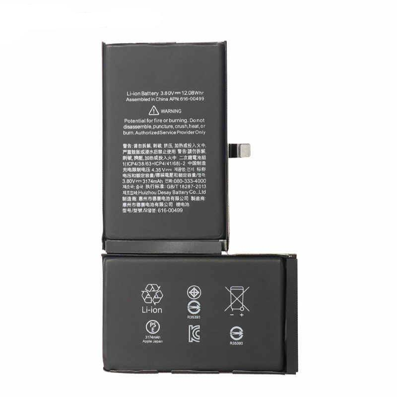 New 3174 mAh Battery with Adhesive for iPhone XS mAX A1921 A2101 A2102 A2104 Pic0