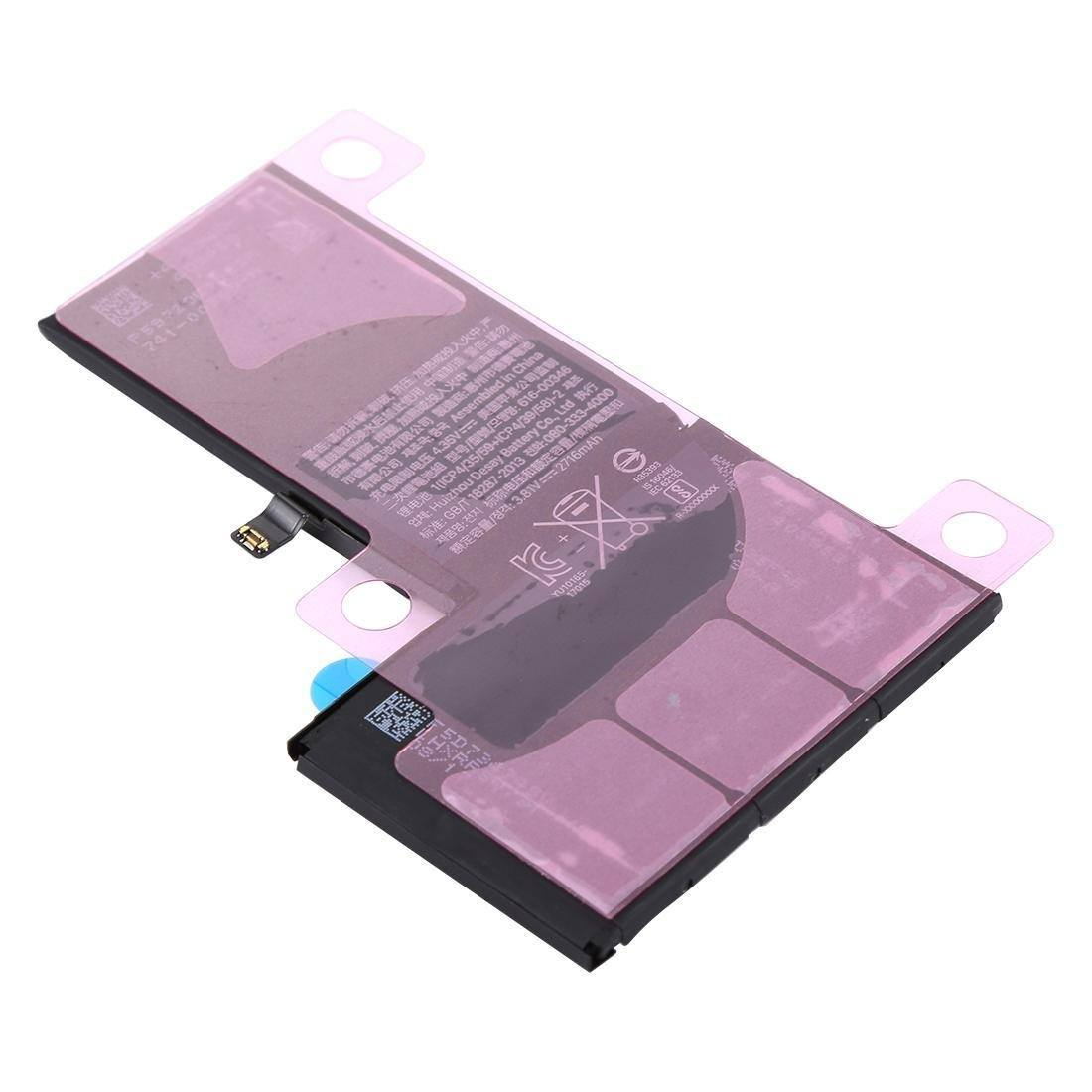 New 2716 mAh Replacement Battery with Adhesive for iPhone X A1865 A1901 A1902 Pic3