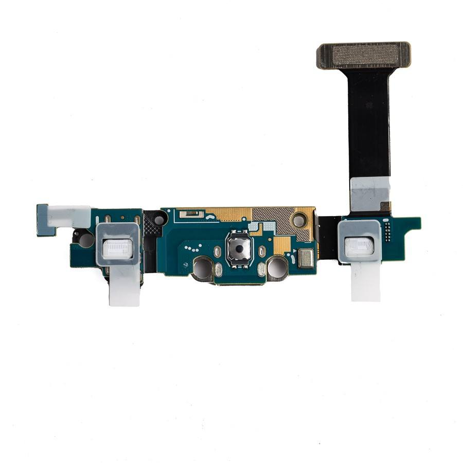 Charging port flex cable with microphone for Samsung Galaxy S6 Edge G925W8 G925A Pic2