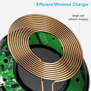 10W Qi Fast Wireless Charger For Samsung Galaxy S10 S9 S8 Plus Note 10 9 iPhone - Wireless Chargers