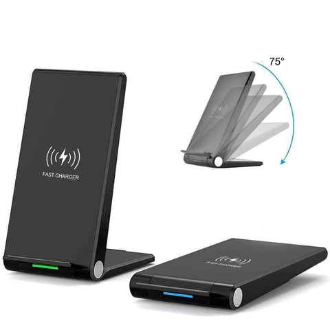 15W Fast Qi Wireless Charger For iPhone 11 Pro Max XS XR X 8 Samsung S10 S9 - Wireless Chargers