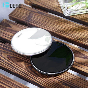 15W Qi Fast Wireless Charger Pad for Samsung S9 S10 iPhone 11 X XS MAX XR 8 - Wireless Chargers