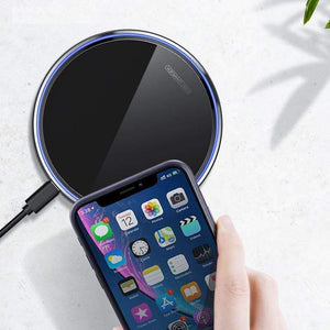 15W QI Quick Charging Wireless Charger USB C 10W QC 3.0 For iPhone Samsung - Wireless Chargers