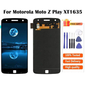 AMOLED LCD Touch Screen Digitizer Display for Motorola Moto Z Play XT1635 - Black AMOLED - LCD's & Digitizers