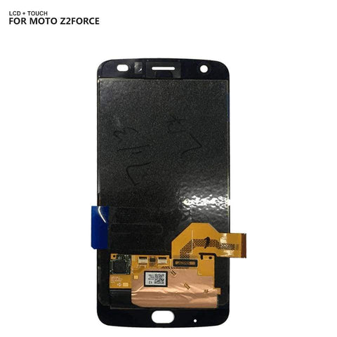 AMOLED LCD Touch Screen Digitizer Display for Motorola Moto Z2 Force XT1789 - Black - LCD's & Digitizers