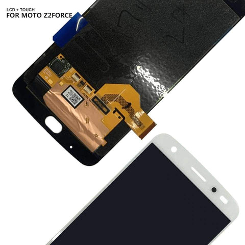 AMOLED LCD Touch Screen Digitizer Display for Motorola Moto Z2 Force XT1789 - LCD's & Digitizers