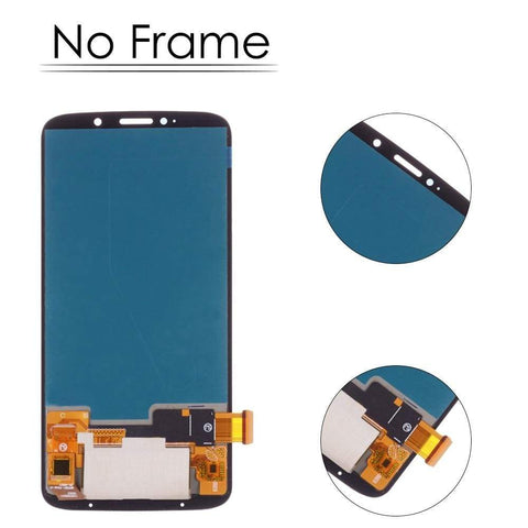 AMOLED LCD Touch Screen Digitizer Display for Motorola Moto Z3 Play XT1929 - Black | No Frame - LCD's & Digitizers
