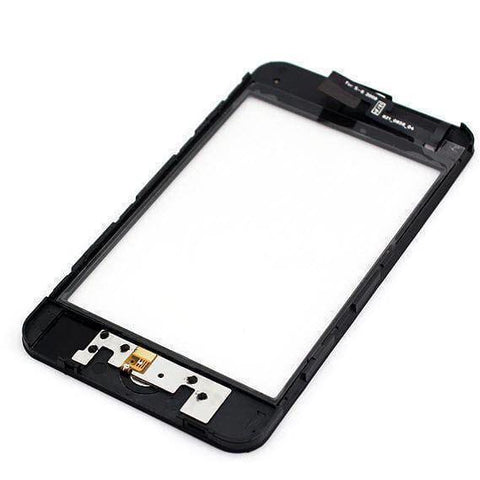 Image of Apple iPod Touch 3rd Generation Touch Screen Glass Lens Digitizer Frame with Home Button - LCDs & Digitizers