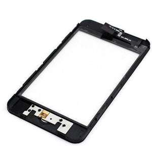 Apple iPod Touch 3rd Generation Touch Screen Glass Lens Digitizer Frame with Home Button - LCDs & Digitizers