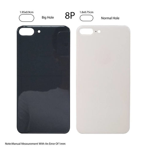 Image of Back Glass Rear Battery Door Cover Replacement iPhone 8 Plus A1864 A1897 A1898