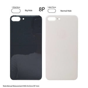 Back Glass Rear Battery Door Cover Replacement iPhone 8 Plus A1864 A1897 A1898