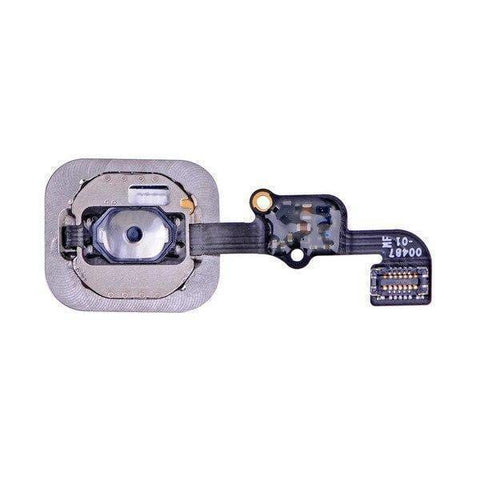 New Black Home Button flex cable Assembly for the iPhone 6S and 6S Plus - Home Button
