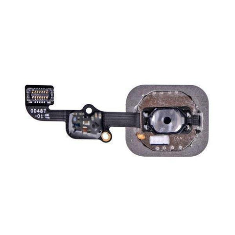 Image of New Black Home Button flex cable Assembly for the iPhone 6S and 6S Plus - Home Button