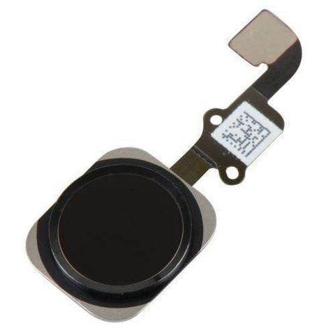 New Black Home Button flex cable Touch ID Sensor Assembly for iPhone 6 & 6 Plus - Home Button
