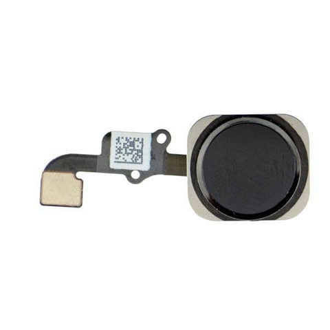 Image of New Black Home Button flex cable Touch ID Sensor Assembly for iPhone 6 & 6 Plus - Home Button