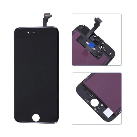 Image of Black LCD Touch Screen Digitizer Assembly for iPhone 6 A1549 A1586 A1589 - LCDs & Digitizers