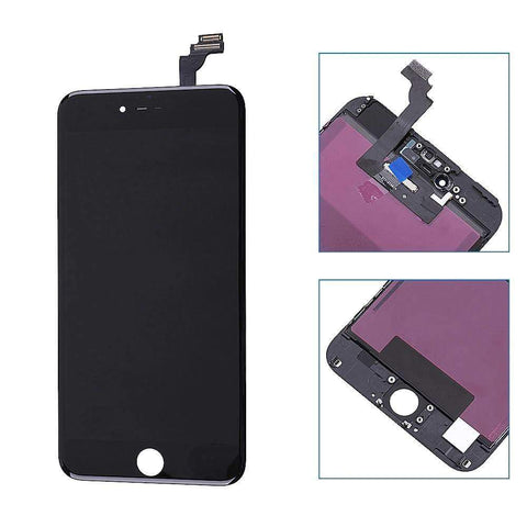 Image of Black LCD Touch Screen Digitizer Assembly for iPhone 6 Plus A1522 A1524 A1593 - LCDs & Digitizers