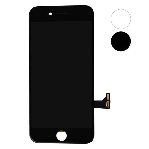 Image of Black LCD Touch Screen Digitizer Assembly for iPhone 7 A1660 A1778 A1779 A1780 - LCDs & Digitizers
