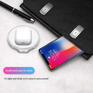 Bluetooth Wireless Charger For Apple AirPods 2 Pro Samsung Galaxy Buds Earphone - Wireless Chargers