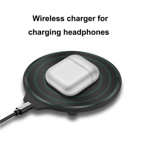 Image of Bluetooth Wireless Charger For Apple AirPods 2 Pro Samsung Galaxy Buds Earphone - Wireless Chargers