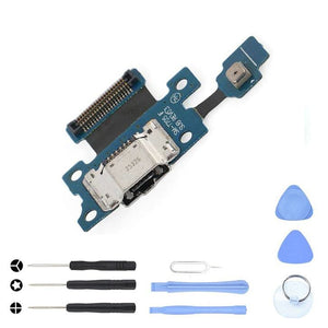 Charging Port Dock with flex cable for Samsung Galaxy Tab S 8.4 SM-T705 - With Tool Kit - Charge Ports