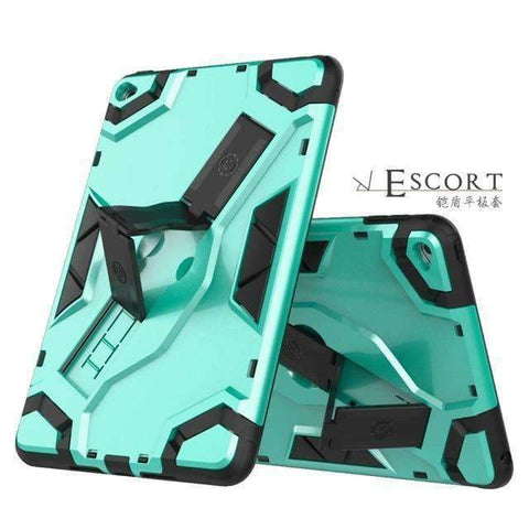 Drop resistance Armor Silicon Shell Cover Case for Apple iPad mini 1 2 3 - Green - Accessories