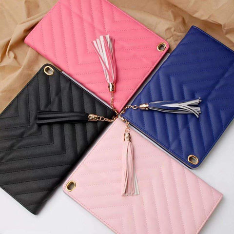 Image of Fashion Luxury Twill PU Leather Smart Tablet Case Cover for Apple iPad mini 1 2 3 - Accessories