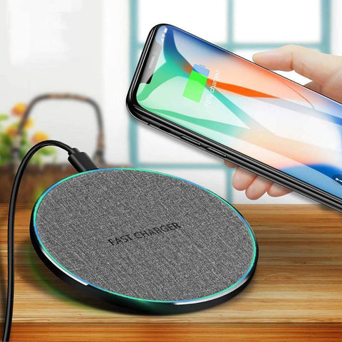 Image of Fast Charging 10w Qi Wireless Charger iPhone 11 Pro XS XR X 8 Airpods Samsung - Wireless Chargers
