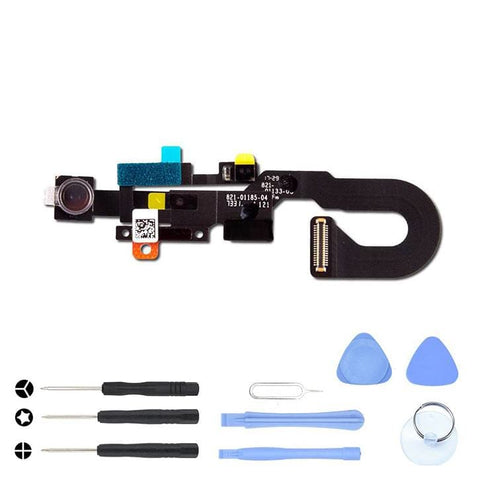 Image of Front Camera and Proximity Sensor Flex Cable for iPhone 8 A1863 A1905 A1906 - With Tool Kit - Cameras