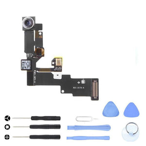 Front Camera Light Motion & Proximity Sensor Flex for iPhone 6 A1549 A1586 A1589 - With Tool Kit - Cameras