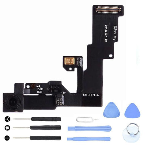 Front Camera with Proximity Light Sensor for iPhone 6S Plus A1634 A1687 A1699 - With Tool Kit - Cameras