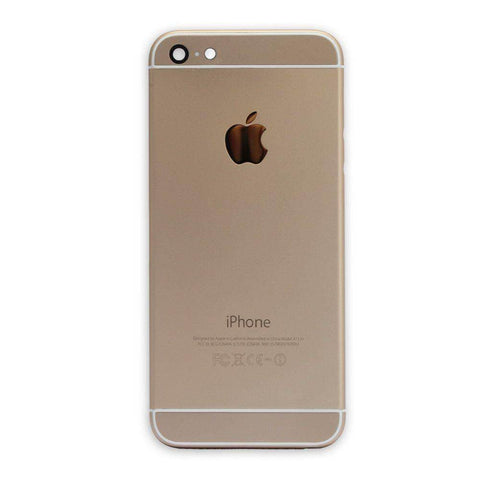 Image of New Replacement iPhone 6 Back Housing Mid Frame Assembly - Gold - Housing Assembly