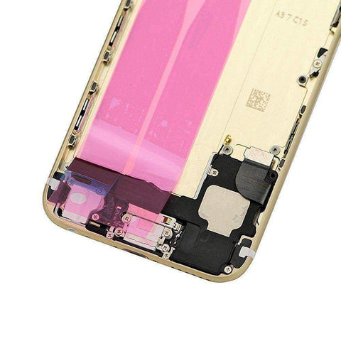 New iPhone 6 Back Housing Mid Frame Assembly with Cables Parts tools - Gold - Housing Assembly