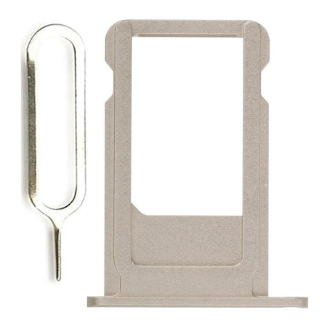 Image of New Original iPhone 6S Plus 5.5 SIM Card Tray Holder with Eject Tool - Gold - SIM Card Tray