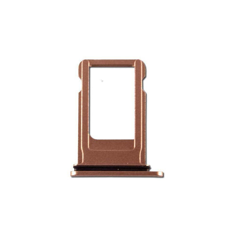 Image of New iPhone 8 Plus SIM Card Tray Holder with Eject Tool - Gold - SIM Card Tray