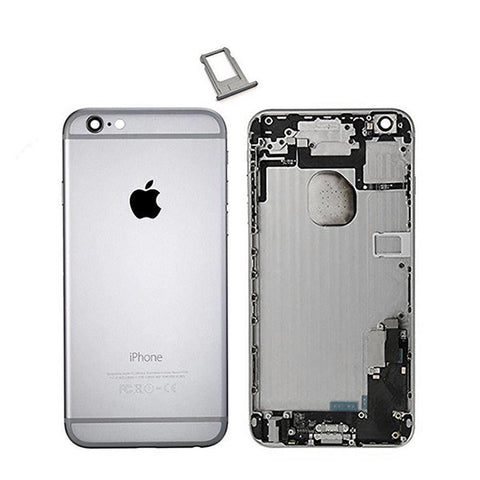 New iPhone 6 Plus Back Housing Mid Frame Assembly with Cables Parts tools - Gray - Housing Assembly