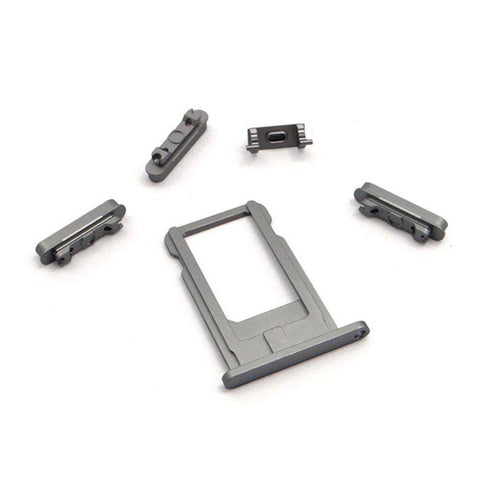 New Replacement iPhone 6 Back Housing Mid Frame Assembly - Gray - Housing Assembly