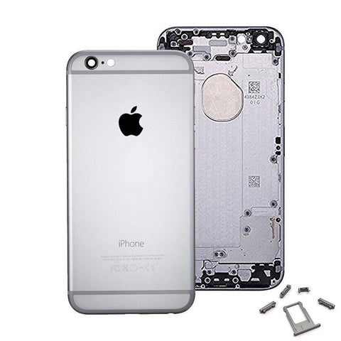Image of New Replacement iPhone 6 Back Housing Mid Frame Assembly - Gray - Housing Assembly